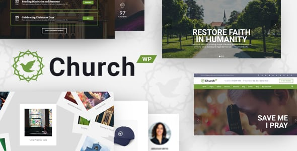 ChurchWP – A Contemporary WordPress Theme for Churches | Prosyscom Tech