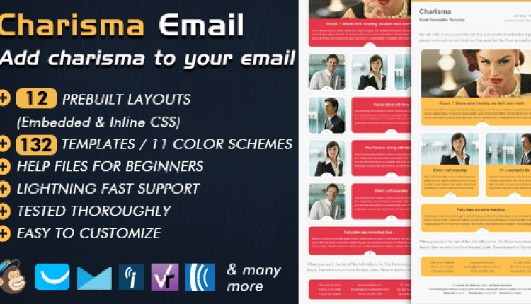 Email Template – CHARISMA | Prosyscom Tech