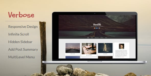 Verbose – Photography Blogger Template | Prosyscom Tech