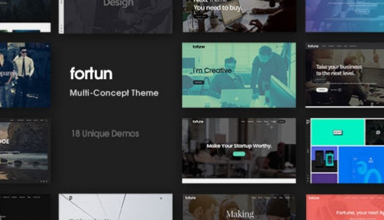 Fortun | Multi-Concept WordPress Theme | Prosyscom Tech