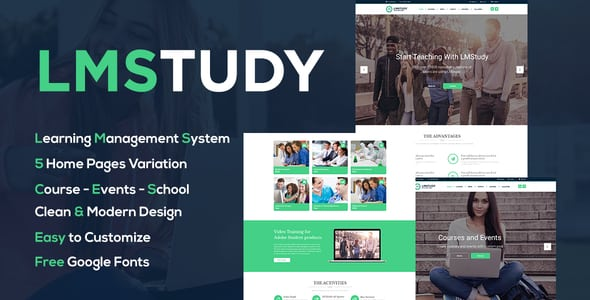 LMStudy – Course / Learning / Education LMS WooCommerce Theme | Prosyscom Tech