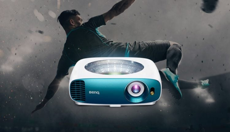 How to watch the football outside with the BenQ TK800 projector   Tech News