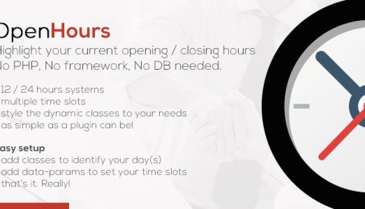 OpenHours – Highlight your Opening / Closing Hours | Prosyscom Tech