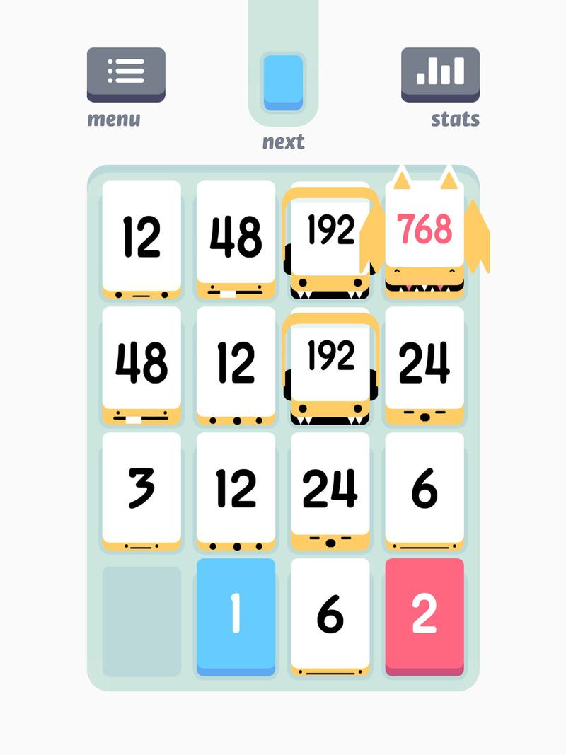 Best free iPad games: Threes! Free