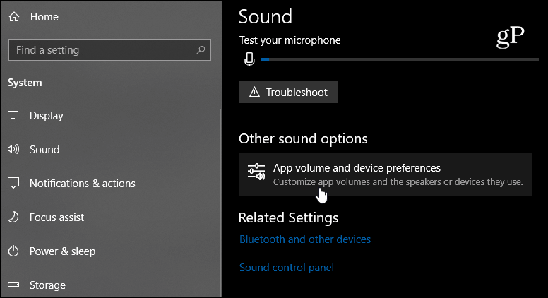 How to Use the New Sound Settings in Windows 10 1803 April Update | Tech News 3