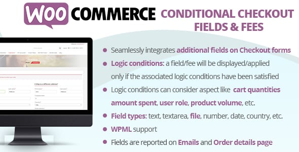 WooCommerce Conditional Checkout Fields & Fees | Prosyscom Tech 1