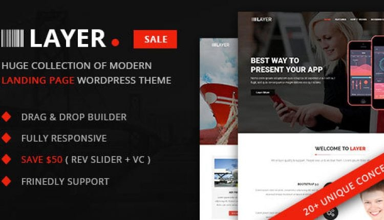 Layer – Huge Collection of Landing Pages | Prosyscom Tech