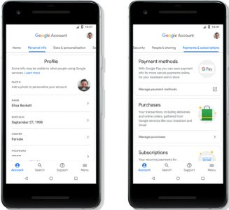 Google Account gets security and privacy refresh on Android, including clearer layout and new search feature | Tech News 1