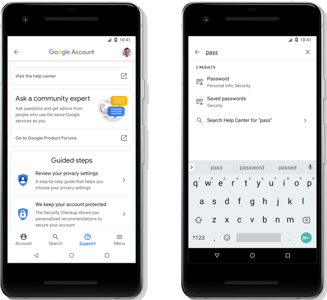 Google Account gets security and privacy refresh on Android, including clearer layout and new search feature | Tech News 3