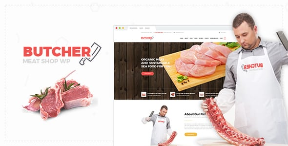 Butcher – Meat Shop Woocommerce WordPress Theme | Prosyscom Tech