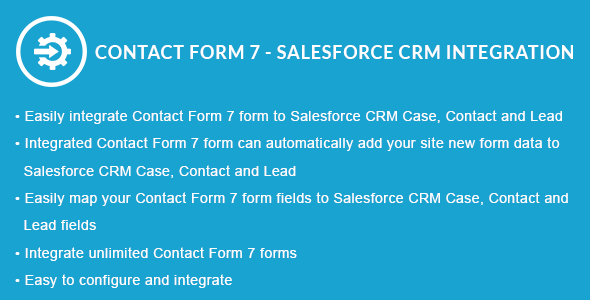 Contact Form 7 – Salesforce CRM Integration | Prosyscom Tech
