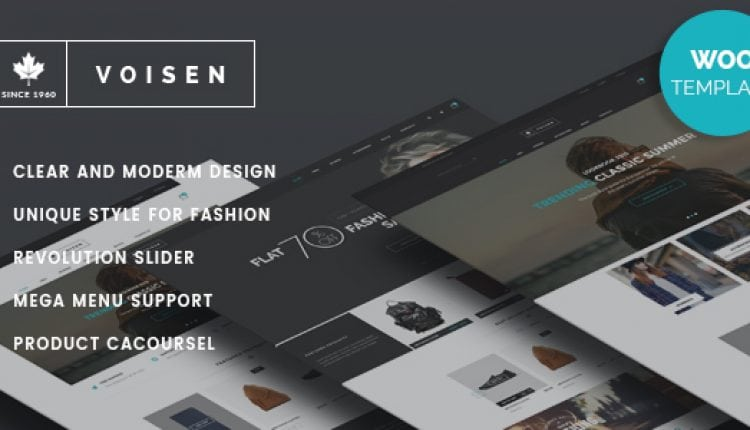 Voisen – WooCommerce Responsive Fashion Theme | Prosyscom Tech