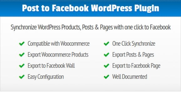 Post to Facebook Synchronize WordPress Posts, Pages and Products to your Facebook Wall and Page | Prosyscom Tech