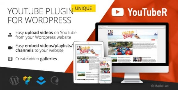 YouTubeR – Unique YouTube Video Feed & Gallery Plugin | Prosyscom Tech