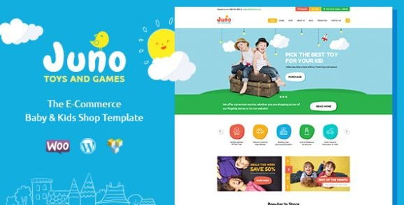 Juno | Kids Toys & Games Store WordPress Theme | Prosyscom Tech