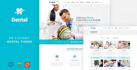 Dental Health – Dentist Medical, Dental Surgeon Theme | Prosyscom Tech