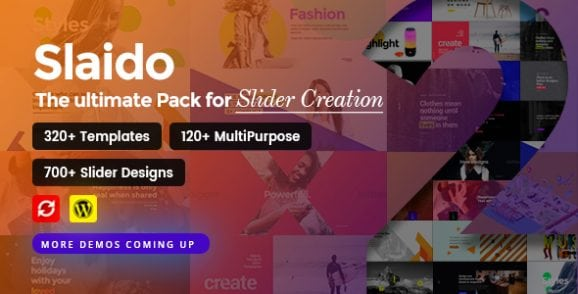 Slaido – Template Pack for Slider Revolution | Prosyscom Tech