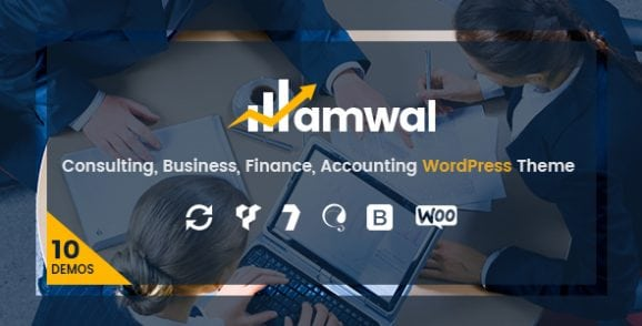 Amwal | Consulting, Business, Finance, Accounting WordPress Theme | Prosyscom Tech