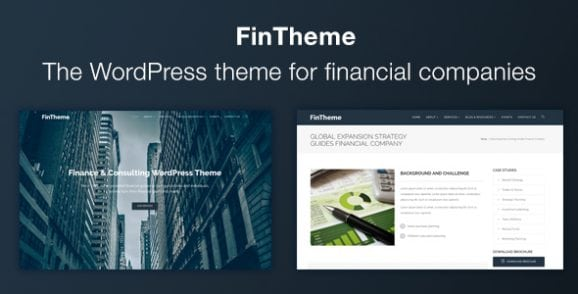 Finance WordPress Theme – For Finance & Consultants