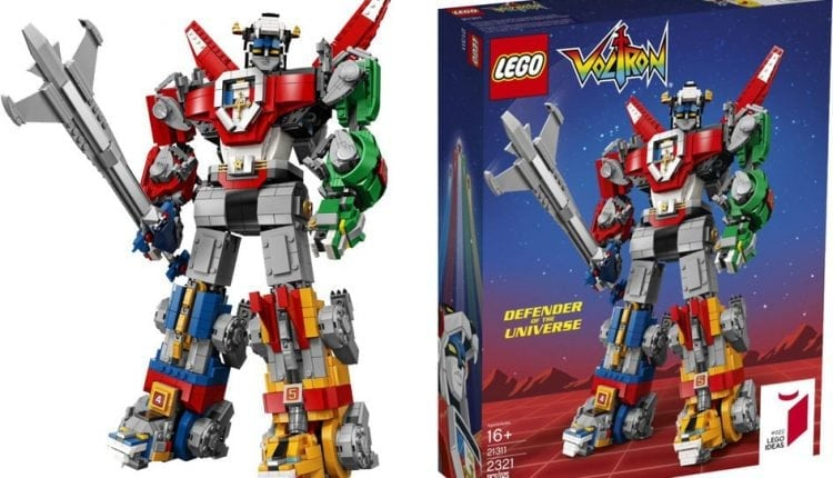 Forget Transformers, Lego Voltron is the constructible robot everyone will want | Apps & Software