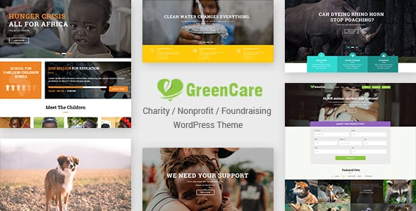 GreenCare | All-in-one WordPress Theme For Charity And Nonprofit | Digital Market