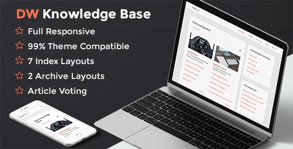 DW Knowledge Base Pro – WordPress Plugin | Prosyscom Tech