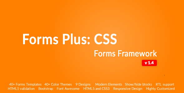 Responsive Form Framework – Forms Plus: CSS | Prosyscom Tech