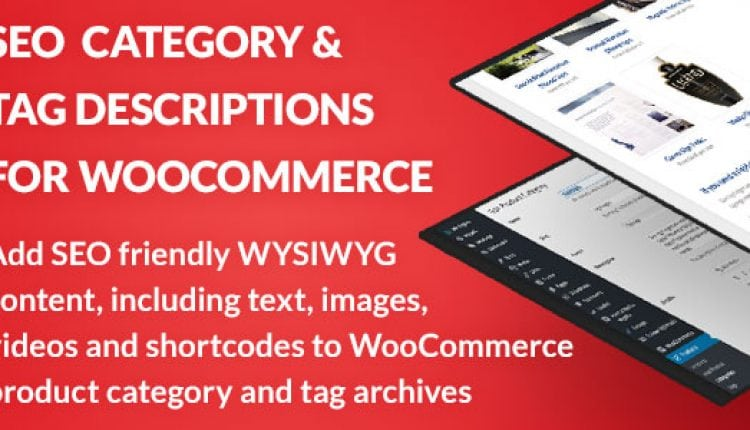 SEO Category and Tag Descriptions for WooCommerce | Prosyscom Tech