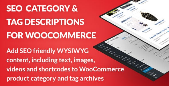 SEO Category and Tag Descriptions for WooCommerce | Prosyscom Tech 1