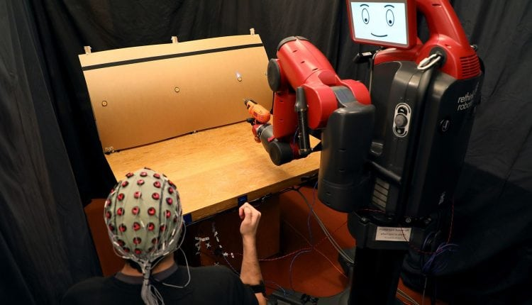 How to control robots with brainwaves and hand gestures | Tech News