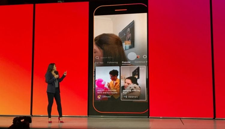 Instagram launches IGTV, a standalone app for longform video | Tech News