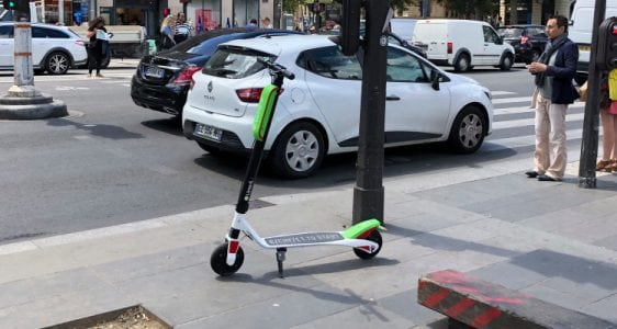 Lime scooters are live in Paris | Tech News