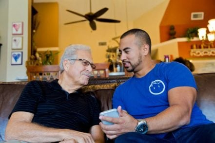 """Papa is """"grandkids on-demand"""" for seniors who need some extra help 