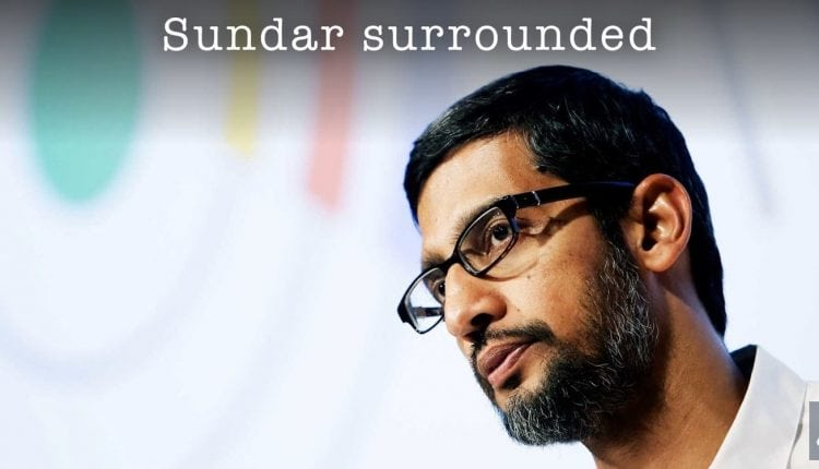 Sundar Pichai is Surrounded by Google Brain Researchers | Tech News