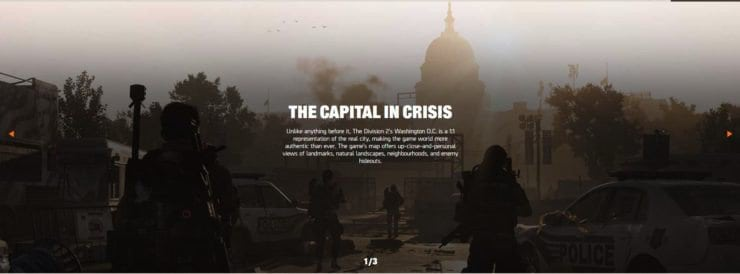 The Division 2 Will Have a Full Scale Version of Washington D.C. | Tech News