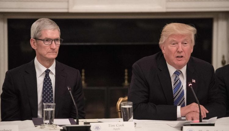 Trump reportedly told Tim Cook iPhones would be spared tariffs | Tech News