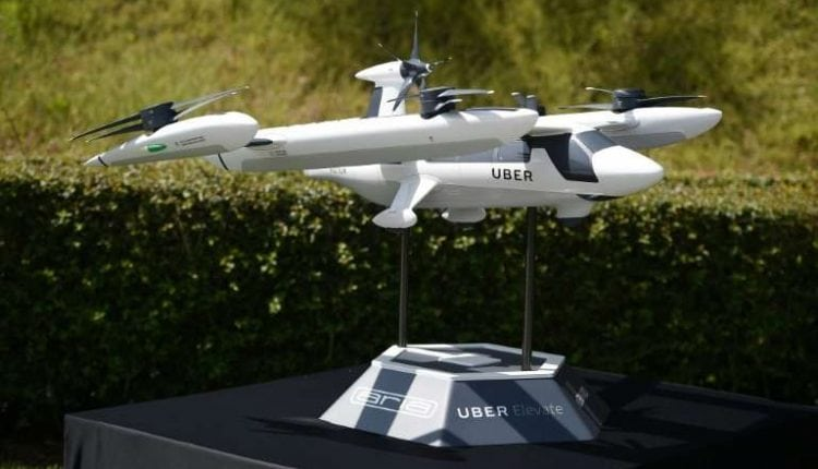 Uber shows off its vision for future 'flying taxi'   Tech News