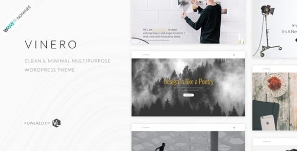 Vinero – Creative MultiPurpose WordPress Theme | Prosyscom Tech