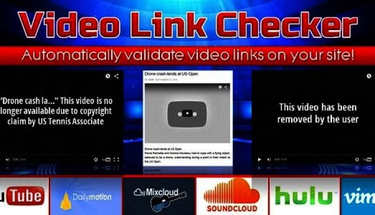 Video Link Checker – Detect broken urls from YouTube, DailyMotion, SoundCloud, Vimeo, etc. | Prosyscom Tech