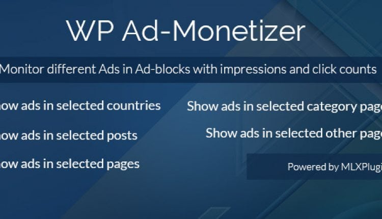 WP Ad-Monetizer | Prosyscom Tech