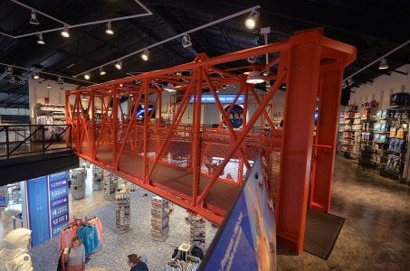 Apollo 11 Gantry Arm Lands in NASA Gift Shop (But Not for Sale)   Tech News