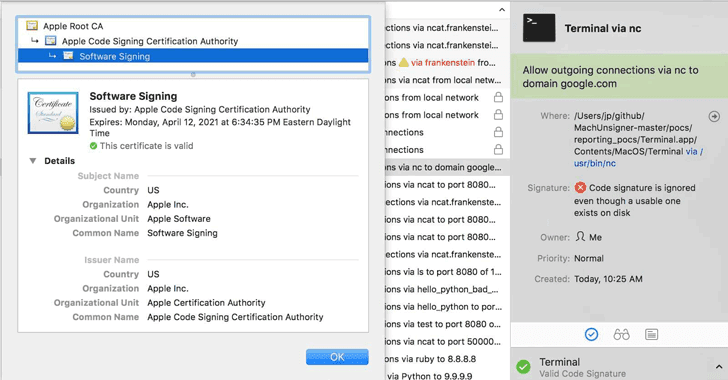 Signature Validation Bug Let Malware Bypass Several Mac Security Products | Tech News