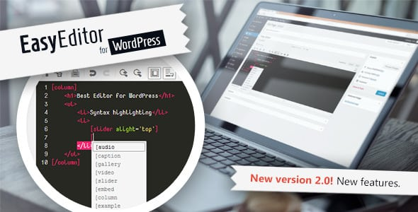 Easy Editor for WordPress with Emmet | Prosyscom Tech