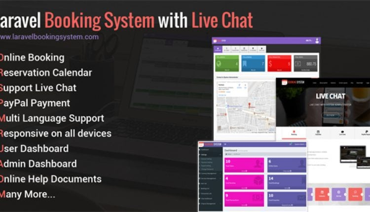 Laravel Booking System with Live Chat – Appointment Booking Calendar | Prosyscom Tech