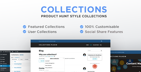 Collections for WordPress Plugin | Prosyscom Tech 1