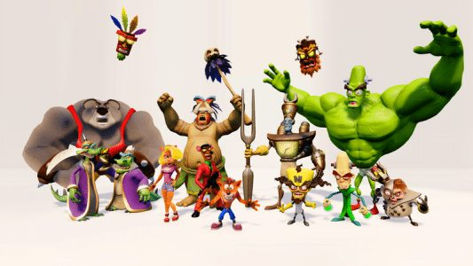 Crash Bandicoot PS4 characters