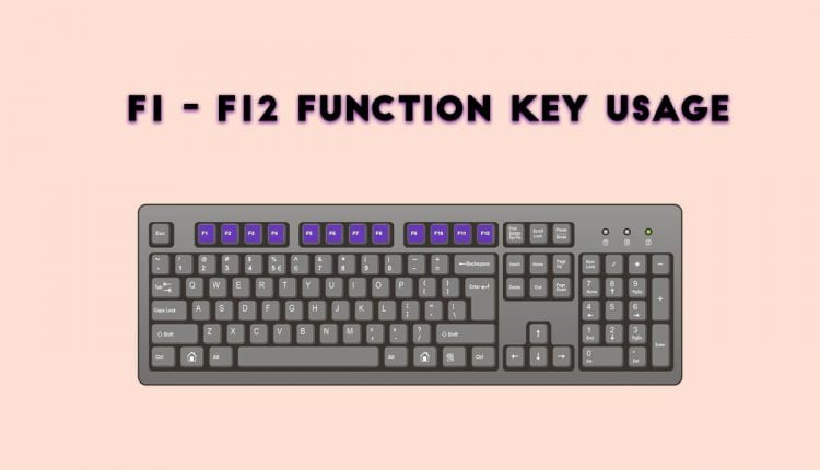 F1 to F12: Function Key Shortcuts Everyone Should Know | Tech News