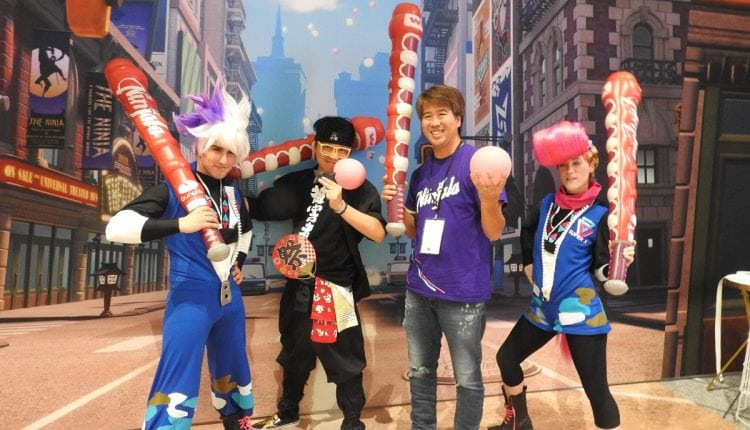 GungHo aims for broader audience with Ninjala bubble gum game | Tech News