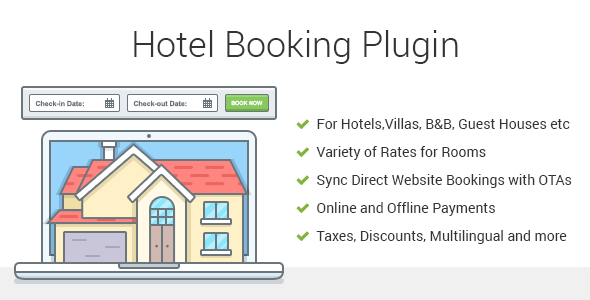 Hotel Booking - Property Rental WordPress Plugin | Prosyscom Tech 1