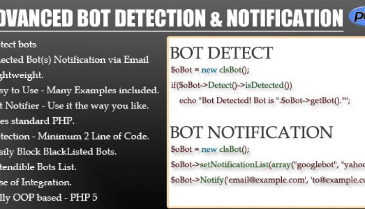 Advanced BOT Detection & Notification | Prosyscom Tech